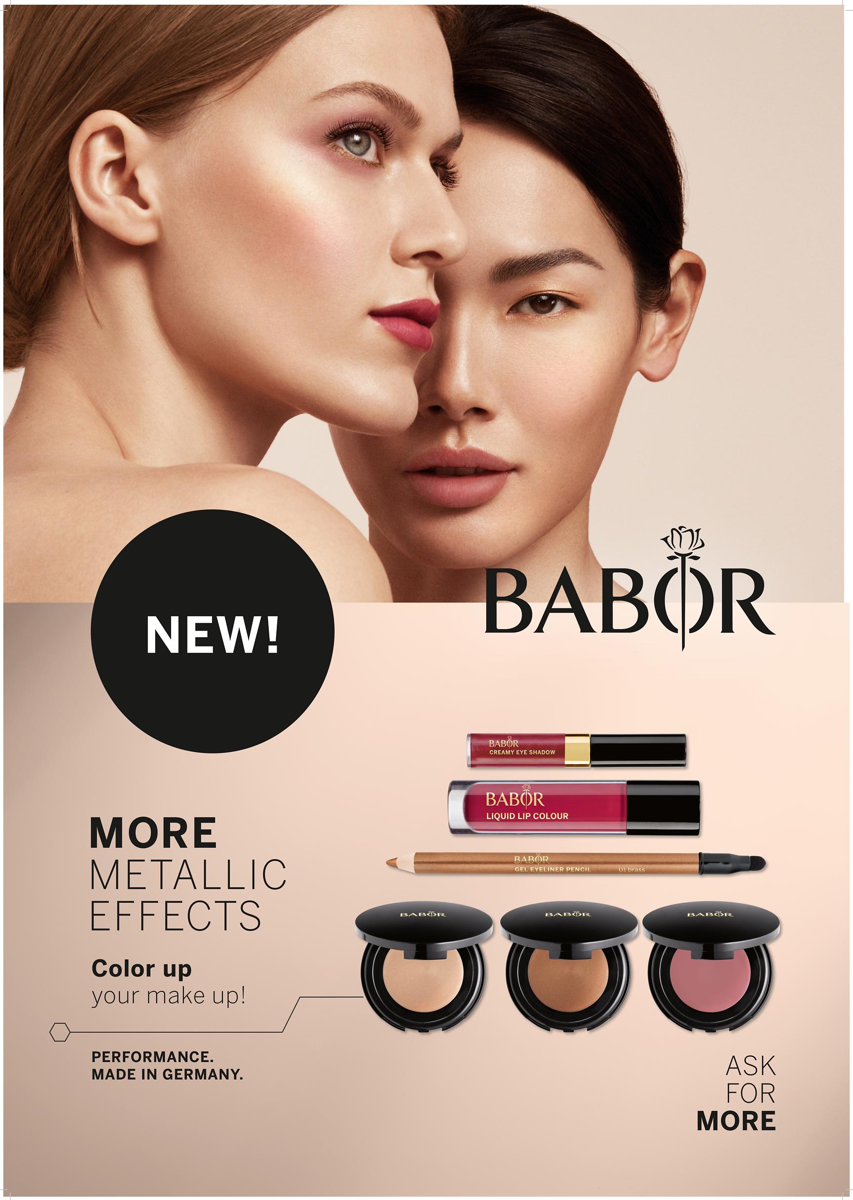 Gabriele Schreiter_Babor-Kosmetik Foam Maske
